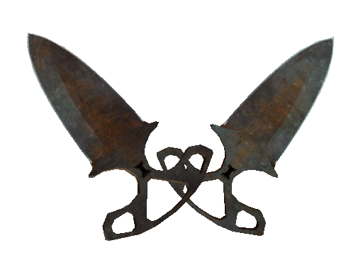 ★ Shadow Daggers | Rust Coat Battle-Scarred