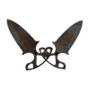 ★ Shadow Daggers | Rust Coat <br>(Battle-Scarred)