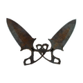★ Shadow Daggers | Rust Coat <br>(Battle-Scarred)