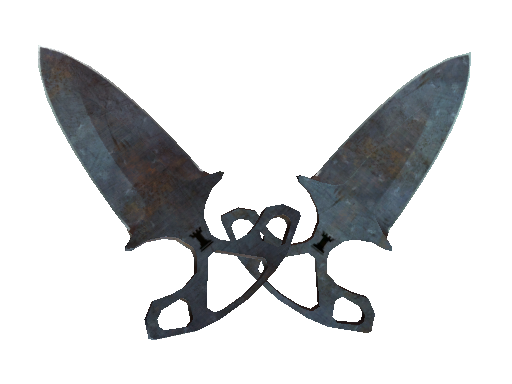 ★ Shadow Daggers | Rust Coat Well-Worn