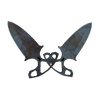 ★ Shadow Daggers | Rust Coat <br>(Well-Worn)