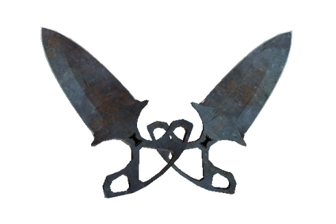 ★ Shadow Daggers | Rust Coat (Well-Worn) Prices