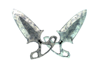 ★ Shadow Daggers | Stained (Battle-Scarred)