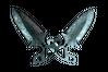 ★ Shadow Daggers   Damascus Steel (Battle-Scarred)