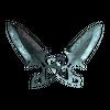 ★ Shadow Daggers | Damascus Steel <br>(Battle-Scarred)