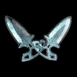 ★ Shadow Daggers | Damascus Steel (Well-Worn)