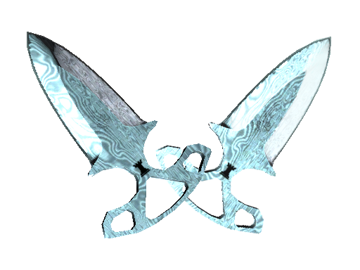 ★ Shadow Daggers | Damascus Steel Factory New