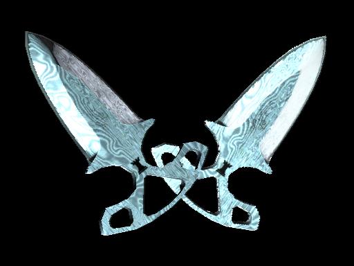 ★ Shadow Daggers | Damascus Steel