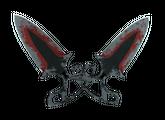 ★ Тычковые ножи | Кровавая паутина, Закаленное в боях, 4421.36$