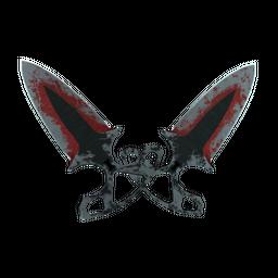 ★ StatTrak™ Shadow Daggers | Crimson Web (Battle-Scarred)