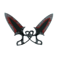 ★ Shadow Daggers | Crimson Web <br>(Battle-Scarred)