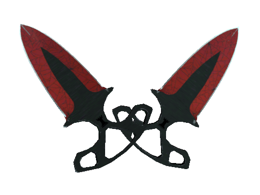 ★ Shadow Daggers | Crimson Web (Field-Tested)