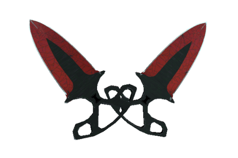 ★ StatTrak™ Shadow Daggers | Crimson Web (Well-Worn) Prices