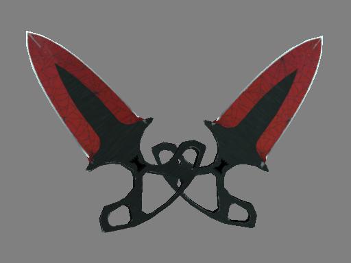 Shadow Daggers | Crimson Web Field-Tested