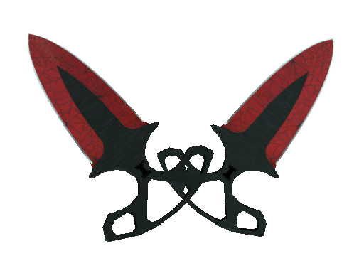 Shadow Daggers | Crimson Web Minimal Wear