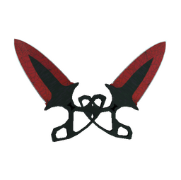 ★ StatTrak™ Shadow Daggers | Crimson Web (Minimal Wear)