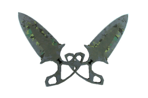 Shadow Daggers Boreal Forest Battle Scarred