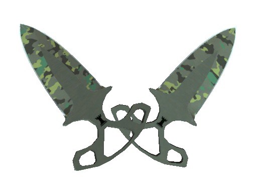 Knives ★ Shadow Daggers Boreal Forest