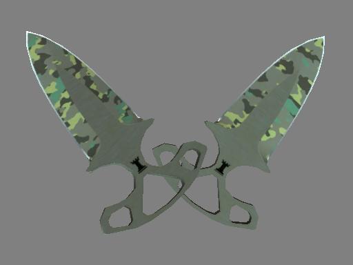 Скин ★ Тычковые ножи | Северный лес (Немного поношенное)