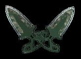 ★ StatTrak™ Тычковые ножи | Пиксельный камуфляж «Лес», После полевых испытаний, 4295.4$