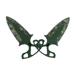 ★ Shadow Daggers | Forest DDPAT (Well-Worn)