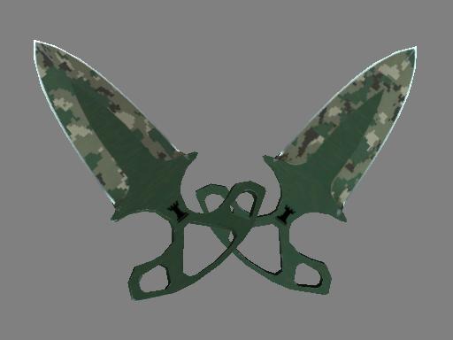 ★ Shadow Daggers | Forest DDPAT