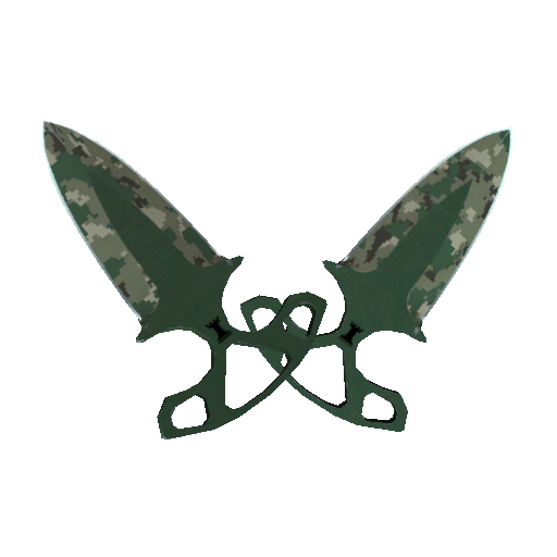 Shadow Daggers | Forest DDPAT - gocase.pro