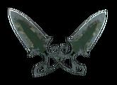 ★ Тычковые ножи | Пиксельный камуфляж «Лес», Закаленное в боях, 3671.95$