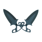 ★ Shadow Daggers | Night (Minimal Wear)