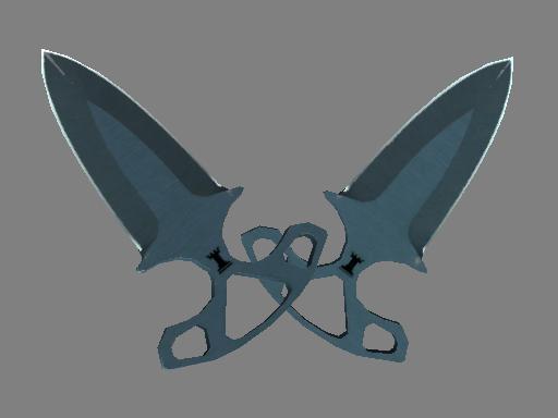 Скин ★ Тычковые ножи | Ночь (Поношенное)
