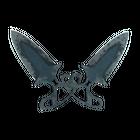 ★ StatTrak™ Shadow Daggers   Night (Battle-Scarred)