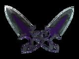 ★ StatTrak™ Shadow Daggers | Ultraviolet (Battle-Scarred)