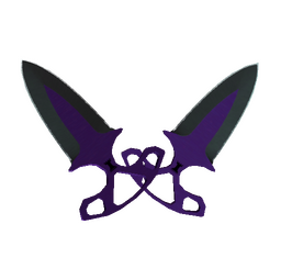 ★ StatTrak™ Shadow Daggers | Ultraviolet (Minimal Wear)