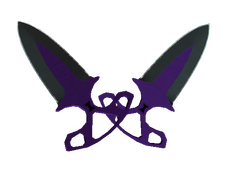 Skin Shadow Daggers | Ultraviolet