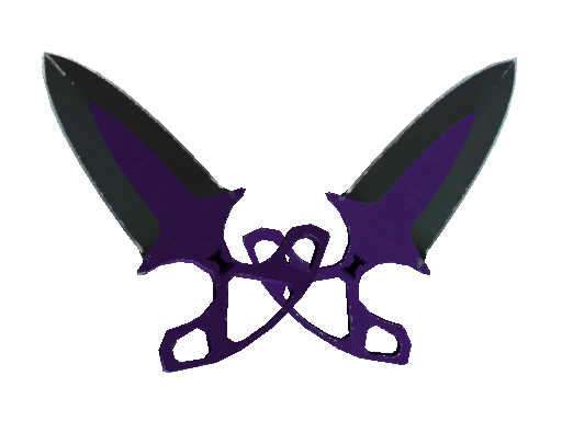 Best Knives ★ Shadow Daggers Ultraviolet