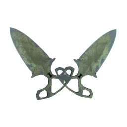 ★ StatTrak™ Shadow Daggers | Safari Mesh (Battle-Scarred)