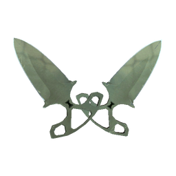 ★ StatTrak™ Shadow Daggers | Safari Mesh (Well-Worn)