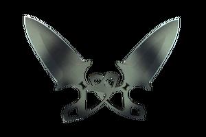Shadow Daggers Scorched Minimal Wear