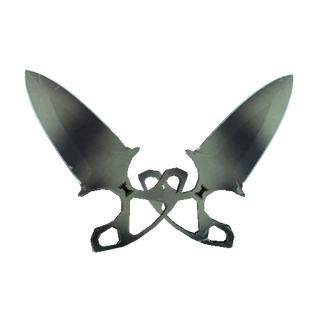 ★ StatTrak™ Shadow Daggers | Scorched (Well-Worn)