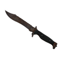 ★ Bowie Knife | Rust Coat <br>(Battle-Scarred)