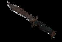 ★ Bowie Knife | Rust Coat (Battle-Scarred)