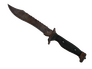 Skin Bowie Knife | Rust Coat