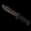 ★ Bowie Knife | Rust Coat