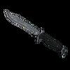 ★ StatTrak™ Bowie Knife | Damascus Steel <br>(Battle-Scarred)