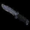 ★ StatTrak™ Bowie Knife | Blue Steel <br>(Well-Worn)