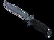 ★ Bowie Knife Blue Steel