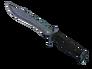 Bowie Knife - Blue Steel