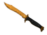 Skin Bowie Knife | Tiger Tooth