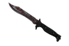 ★ StatTrak™ Bowie Knife | Crimson Web (Battle-Scarred)