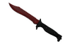★ StatTrak™ Bowie Knife | Crimson Web (Well-Worn)
